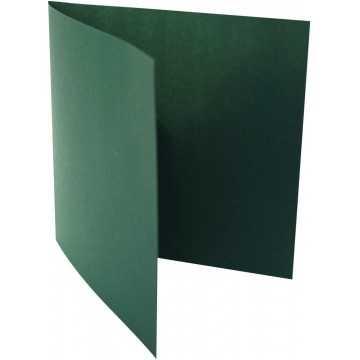 1-Quadratische Klappkarte zum selbst Beschriften in Tannen Grün der Größe 140 x 140 mm 14 x 14 cm Grammatur: 300 g/m²