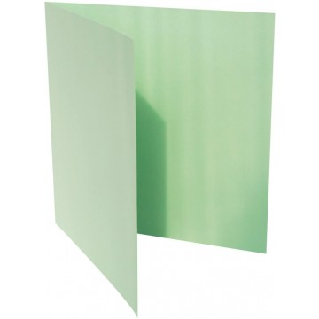 1-Quadratische Klappkarte zum selbst Beschriften in Minze der Größe 140 x 140 mm 14 x 14 cm Grammatur: 300 g/m²