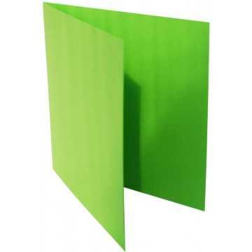 1-Quadratische Klappkarte zum selbst Beschriften in Gras Grün der Größe 150 x 150 mm 15 x 15 cm Grammatur: 300 g/m²