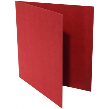 1-Quadratische Klappkarte zum selbst Beschriften in Bordeaux der Größe 150 x 150 mm 15 x 15 cm Grammatur: 300 g/m²