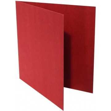1-Quadratische Klappkarte zum selbst Beschriften in Bordeaux der Größe 155 x 155 mm 15,5 x 15,5 cm Grammatur: 300 g/m²