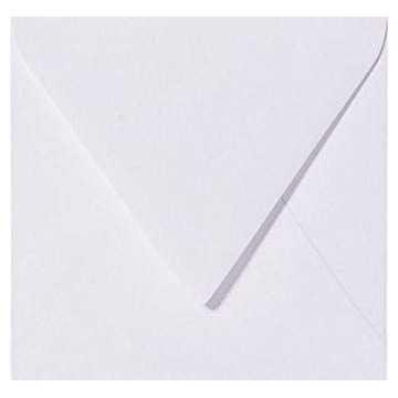 1 Briefumschlag 15 x 15 cm 150 x 150 mm Rosa Verschluss: Kuverts mit Haftstreifen Grammatur: 120 g/m²