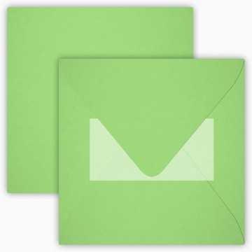 1 Briefumschlag 15,5 x 15,5 cm 155 x 155 mm Flieder Verschluss: Kuverts mit Haftstreifen Grammatur: 120 g/m²