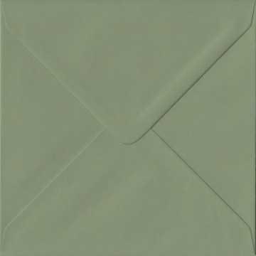 1- Briefumschlag 14,5 x 14,5 cm 145 x 145 mm Minze mit Innenfutter ( Weiß ) Verschluss: feuchtklebend  100 g/m²