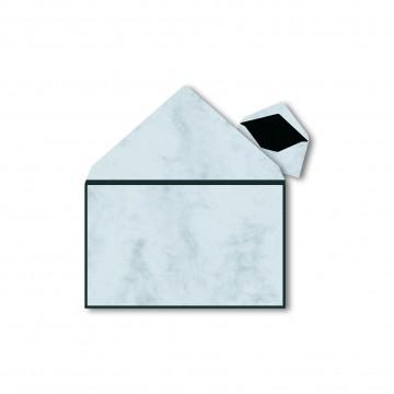 1 Trauerumschlag 120 x 191 mm Mamor mit Rahmen für Beerdigung, Danksagung