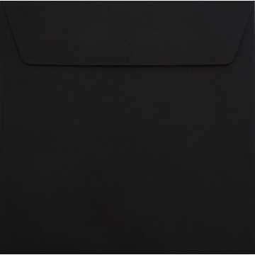 1 Briefumschlag 18 x 18 cm 180 x 180 mm Schwarz Verschluss: Kuverts mit Haftstreifen