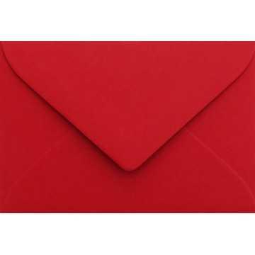 1 Briefumschlag Mini geeignet für Visitenkarten Rosen Rot 6 x 9 cm Verschluss-Technik: feuchtklebend