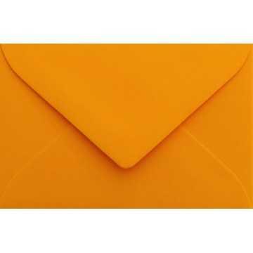 1 Briefumschlag Mini Orange 5,1 x 7,0 cm Verschluss-Technik: feuchtklebend