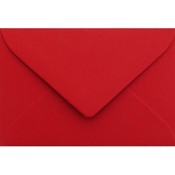 1 Briefumschlag Mini Rosen Rot 5,1 x 7,0 cm Verschluss-Technik: feuchtklebend