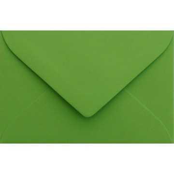1 Briefumschlag Mini Grün 5,1 x 7,0 cm Verschluss-Technik: feuchtklebend