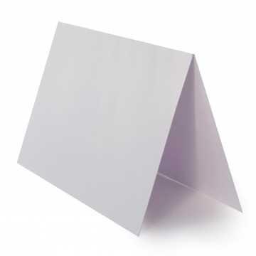 1 Tischkarte zum selbst Beschriften - Weis Grammatur: 240 g/m² - 100 x 120 mm 10 x 12 cm