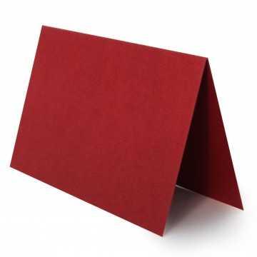 1 Tischkarte zum selbst Beschriften - Bordeaux Grammatur: 240 g/m² - 100 x 120 mm 10 x 12 cm