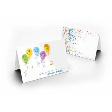 Wunderschöne Tischkarten (Party) UV-Lack glänzend - für Hochzeit, Geburtstag,