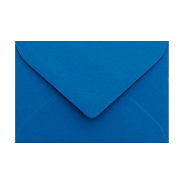 Briefumschläge B6 DIN (12,5 x 17,6 cm) Blau , Verschluss-Technik: Haftklebend mit Dreieck Lasche Grammatur: 120 g/m²
