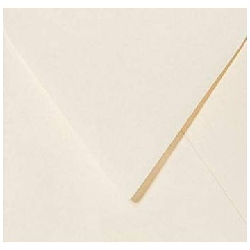 Quadratische Briefumschläge Farbe: Vanille Creme 15 x 15 cm 150 x 150 mm Selbstklebende mit Dreiecklasche