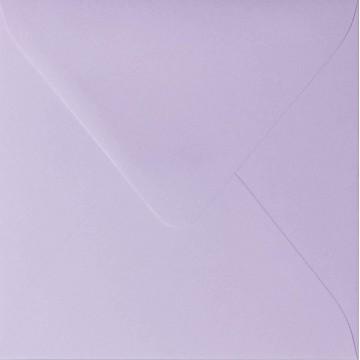 1 Briefumschlag 12,5 x 12,5 cm 125 x 125 mm Flieder Verschluss: feuchtklebend