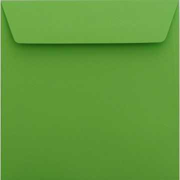 1 Briefumschlag 18,5 x 18,5 cm 185 x 185 mm Ozean Blau Verschluss: Kuverts mit Haftstreifen Grammatur: 120 g/m²