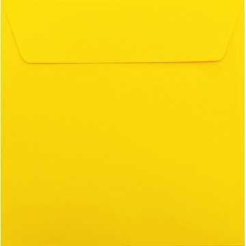 1 Briefumschlag 18,5 x 18,5 cm 185 x 185 mm Mandarine : Kuverts mit Haftstreifen Grammatur: 120 g/m²