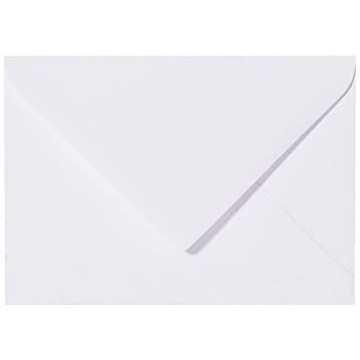 1 Briefumschlag B6 120 x 180 mm Weiß Verschluss-Technik: feuchtklebend