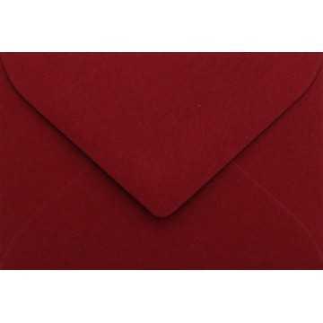Briefumschläge B6 DIN (12,5 x 17,6 cm) Weinrot , Verschluss-Technik: Freuchtklebend mit Dreieck Lasche Grammatur: 120 g/m²
