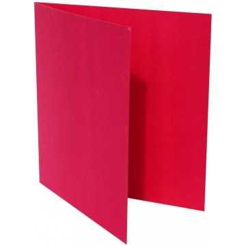 1-Quadratische Klappkarte zum selbst Beschriften in Pink von der Größe 105 x 105 mm 10,5 x 10,5 cm Grammatur: 300 g/m²