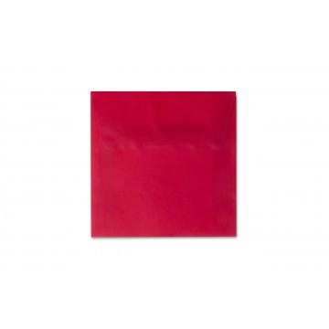 1 Briefumschlag 12,5 x 12,5 cm 125 x 125 mm Transparente/ Premium Rot Verschluss: Kuverts mit Haftstreifen