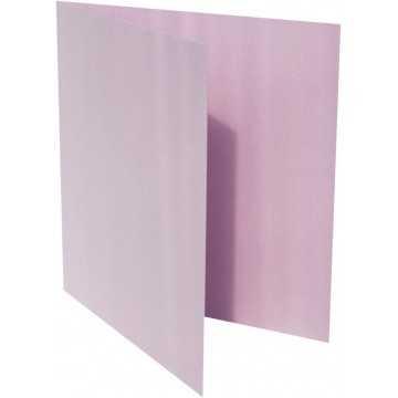 1-Quadratische Klappkarte zum selbst Beschriften in Flieder von der Größe 12 x 12 mm 120 x 120 cm Grammatur: 300 g/m²