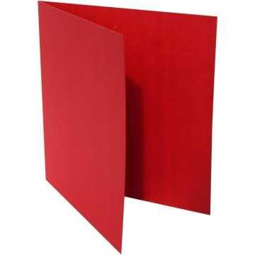 1-Quadratische Klappkarte zum selbst Beschriften in Rosen Rot von der Größe 130 x 130 mm 13 x 13 cm Grammatur: 300 g/m²