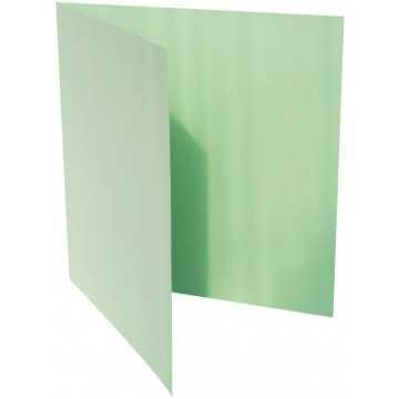 1-Quadratische Klappkarte zum selbst Beschriften in Minze von der Größe 130 x 130 mm 13 x 13 cm Grammatur: 300 g/m²