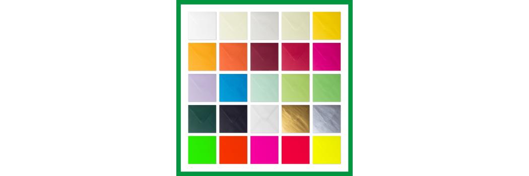 Material:: Papier / Briefumschläge / Umschläge / Quadratisch / Kuvert